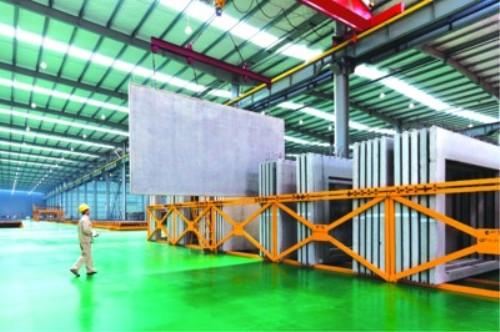 支持兰州新区先行建设钢结构建筑产品标准化生产基地